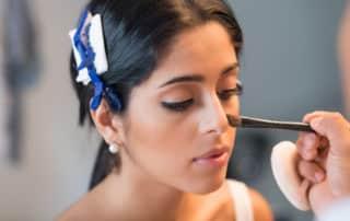 Nase schmaler schmincken - Brautstyling und Make-up Artist Aufmbruch